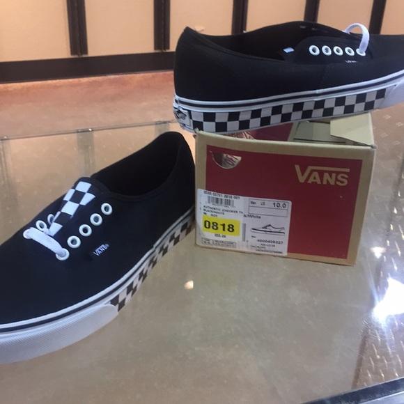 Vans Shoes   Authentic Checker Tape